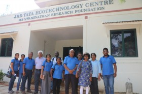 SLCM. S. Swaminathan Research Foundation DF staff at the